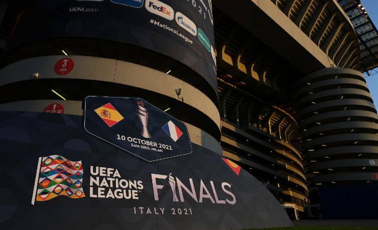 Stadio San Siro pronto per la finale di Nations League