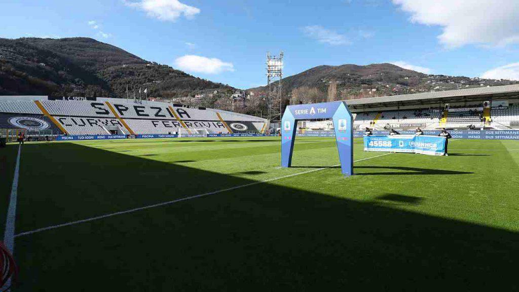 Uno stadio di Serie A