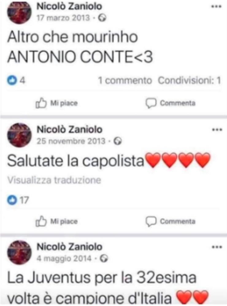 Zaniolo Mourinho