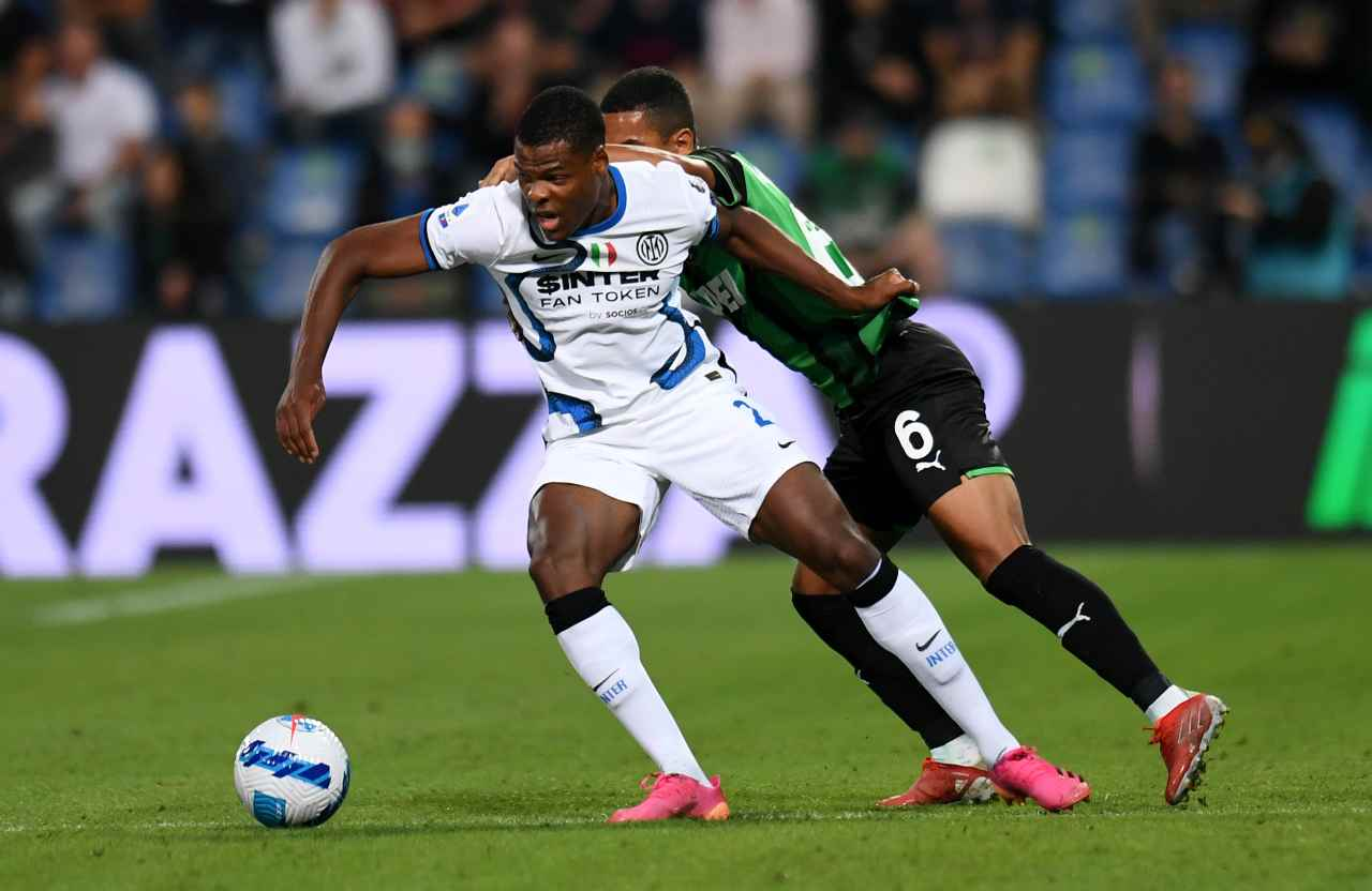 Inter-Sassuolo (Getty Images)